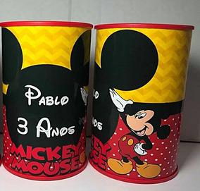 50 Cofrinhos Personalizados Mickey - Promoção