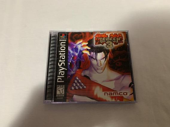 Tekken 3 Ps1 Original Completo Americano