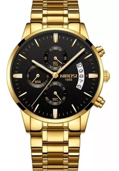 Relógio Masculino Original, Resistente A Água, Chama Atençã