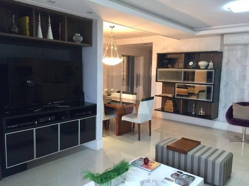 Imagem 1 de 23 de Apartamento Com 4 Dormitórios À Venda, 190 M² Por R$ 940.000,00 - Imbetiba - Macaé/rj - Ap0056