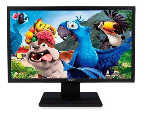 Monitor 20 Pulgadas Led Acer Slim Hdmi + Vga