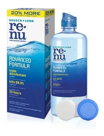 Renu Advance Jumbo 355ml Liquido Lentes Contacto Solución Gc