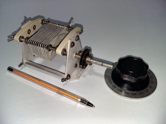 Capacitor Variável Para Antena Loop Magnética 1500v