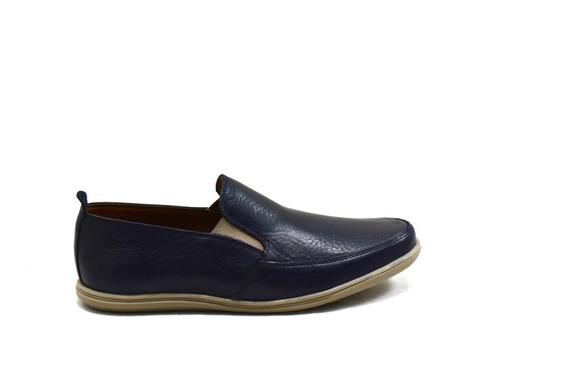 Zapatillas Tipo Panchas De Cuero G20-a