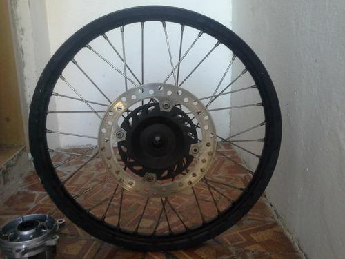 Imagem 1 de 10 de Roda Dianteira E Roda Traseira Moto Honda Xre 300 Original