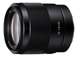Lente Gran Angular Sony 35mm F1.8 Sel35f18f Full Frame
