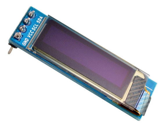 Display Oled Azul 128x32 Pixel 0.91 Polegadas 4 Pinos I2c