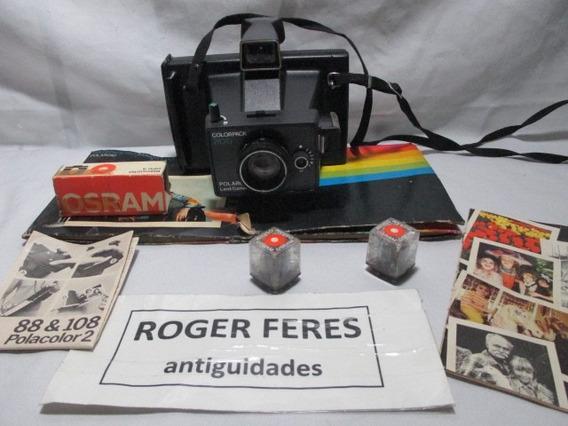 Antiga Camera Polaroid Colorpack 200 Land Camera