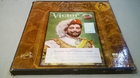 Caruso. El Tenor De La Centuria - 4 Lp Box Set Nacional 1978