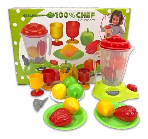 Licuadora Con Frutas De Juguete Comida Nene Nena Antex