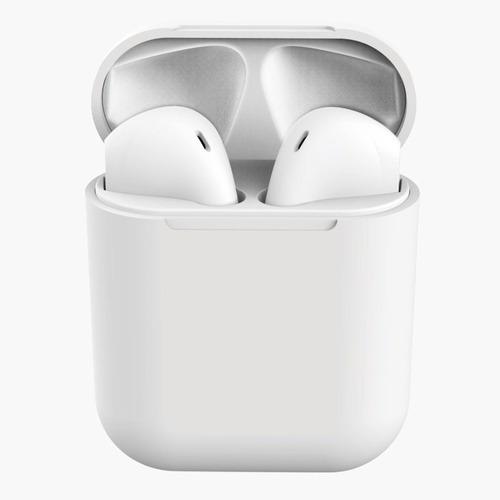 Inpods 12 Tws Macaron Fone De Ouvido Bluetooth Branco