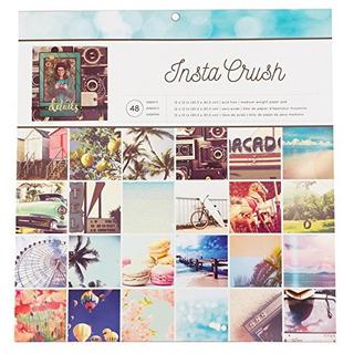 American Crafts 375033 Photo Real 12 X 12 48 Sheet Insta Cru