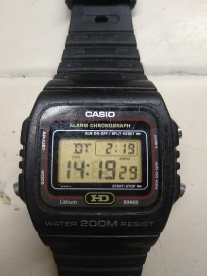 Relógio Casio Dw 260 Hd Módulo 690 Anos 80