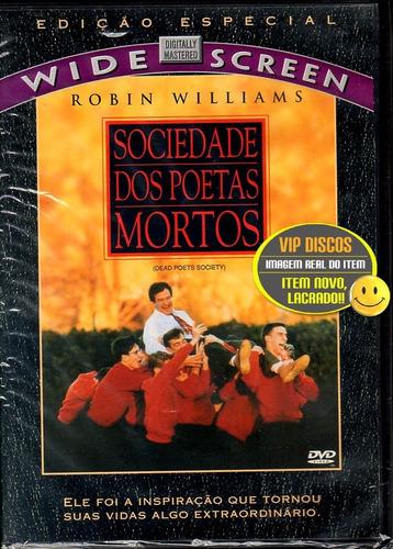 Imagem 1 de 7 de Dvd Sociedade Dos Poetas Mortos Edição Especial - Lacrado!!!