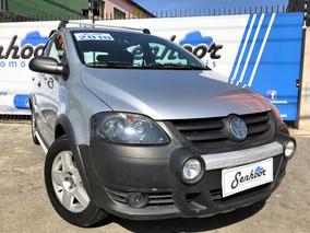 Volkswagen Crossfox 1.6 Flex Completo 2010 - Prata