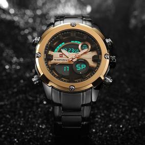 Relógio De Luxo Masculino Naviforce 9088 Luxo Original