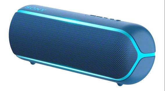Caixa de som Sony Extra Bass XB22 portátil sem fio Azul