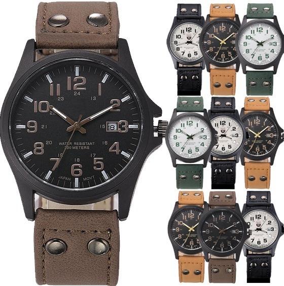 10 Relojes Militar Hombre Caballero Soki Lote Mayoreo A107