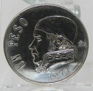 Moneda $1 Un Peso Morelos México 1971