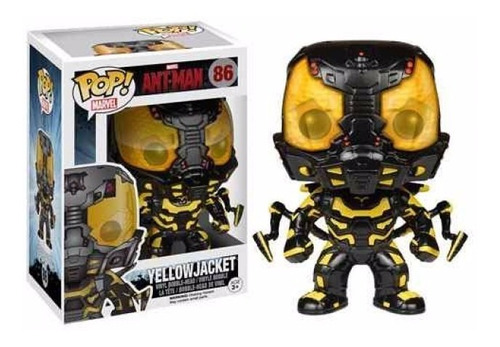 Yellow Jacket Funko Pop Marvel 86 - Bonellihq L18