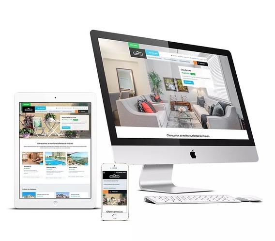 Criação De Sites Profissional Responsivo - Gerenciável