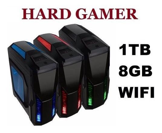 Cpu Gamer + Monitor Amd A4 7300/ 1tb/ 16gb/ Hd 8470d/ Hdmi