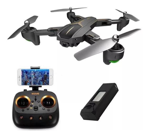 Drone Visuo Xs812 Gps Wi-fi 5ghz Câmera 1080p C/ 1 Bateria