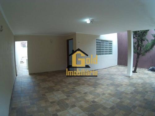 Casa À Venda, 133 M² Por R$ 340.000,00 - Residencial E Comercial Palmares - Ribeirão Preto/sp - Ca0562