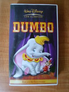 Dumbo - Edición 60° Aniversario - Los Clásicos - Vhs