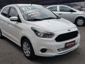 Ford Ka Hatch 2016 Completo 1.0 Flex 36.000 Km Revisado Novo