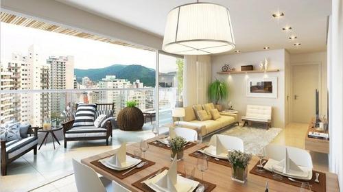 Apartamento Residencial À Venda, Astúrias, Guarujá. - Ap6766