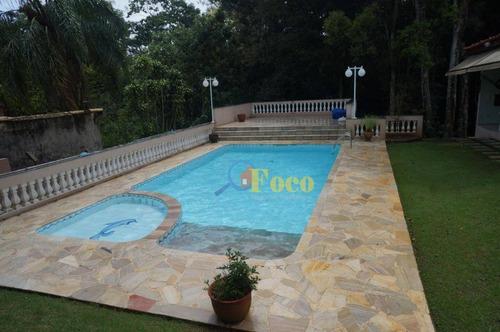 Chácara Com 2 Dormitórios À Venda, 1502 M² Por R$ 1.100.000 - Condomínio Parque Da Fazenda - Itatiba/sp - Ch0208
