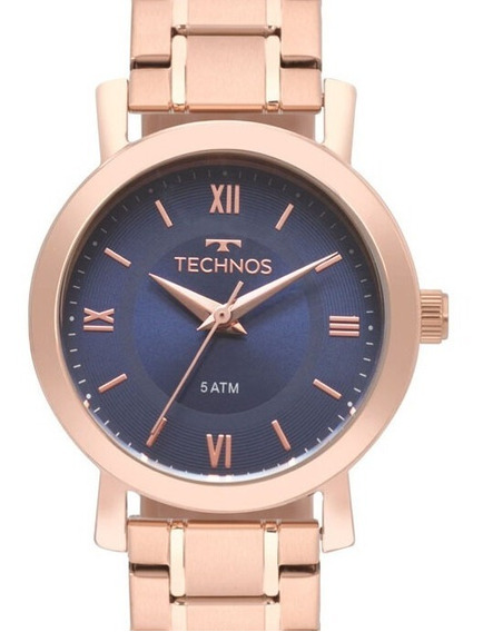 Relogio Technos Feminino Rose Gold