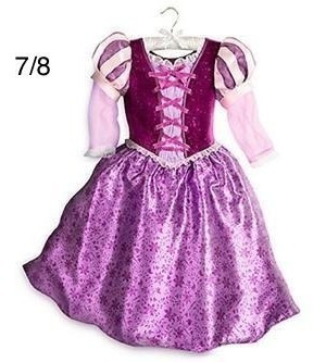 Disfraz Rapunzel Disney Original Talle 7/8