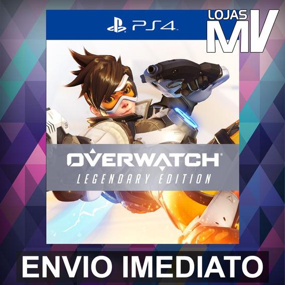 Overwatch Legendary Edition Ps4 Código 12 Dígitos