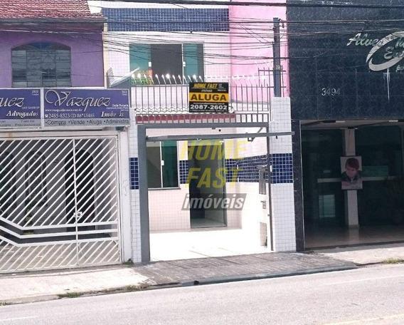Sobrado Para Alugar, 111 M² Por R$ 3.350,00/mês - Vila Galvão - Guarulhos/sp - So0627