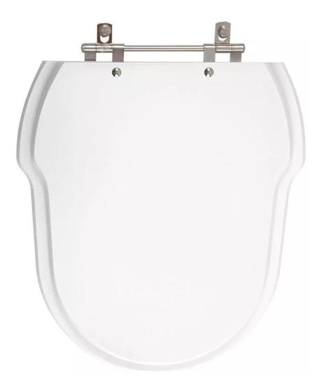Assento Sanitário Hampton Branco Para Louça Incepa Laqueado