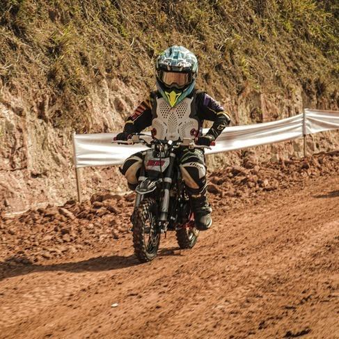 Imagem 1 de 6 de Mini Moto Cross 60cc 4tempos