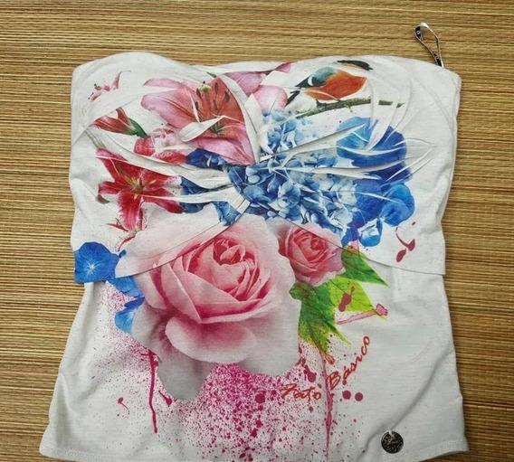 Fator Básico Tomara Que Caia Floral Tenho Farm Morena Rosa