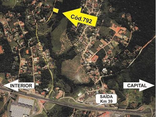 Terreno Em Chácara Recanto Verde, Cotia/sp De 2501m² À Venda Por R$ 250.000,00 - Te870292