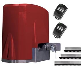 Kit Motor P Portão Mc Garcia + 2 Controles 3 Mts Cremalh 1/4