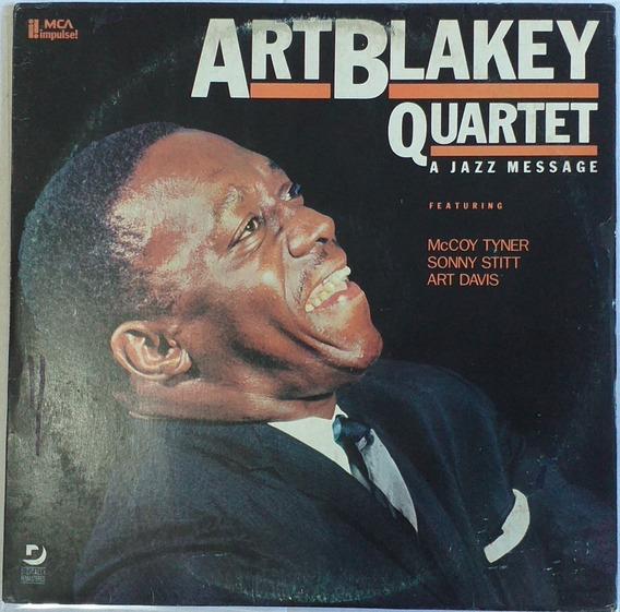 Lp Art Blakey Quartet - A Jazz Message (1987)