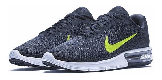Evaporar Galaxia discreción  Zapatillas Nike Air Max Sequent 2 Hombre 852461 012 | Mercado Libre