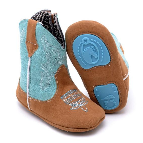 Bota Texana Infantil Baby Kids Country Antiderrapante Bebê