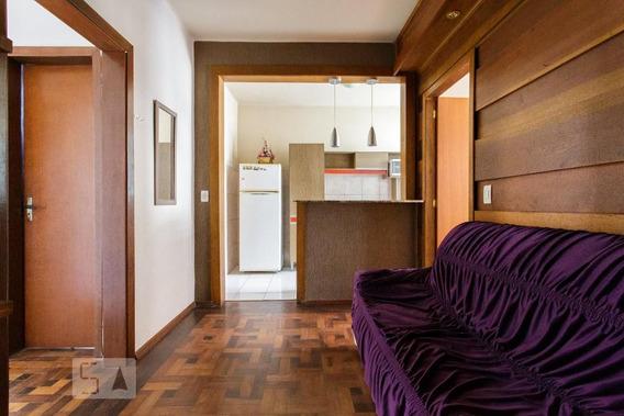 Apartamento No 1º Andar Mobiliado Com 2 Dormitórios - Id: 892952947 - 252947