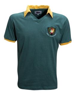 Camisa Retro De Camarões 1982 Leões Indomaveis Ligaretro