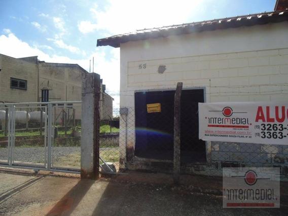 Galpão Comercial Para Locação, Área Industrial, Boituva. - Ga0077
