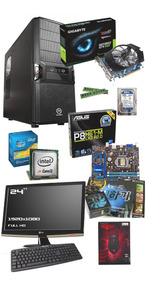 Pc Completo Core I3 8gb Gtx 650 + Monitor Full Hd Lg 23.5