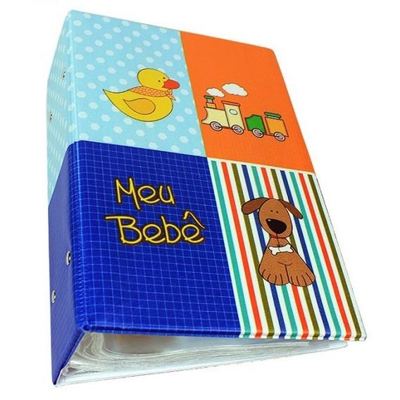 Álbum - Diário Do Bebê - Masculino - 10x15 - 500 Fotos