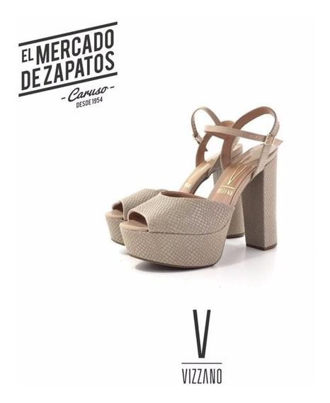 Vizzano 6282-100 Sandalia Taco Ancho El Mercado De Zapatos!